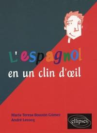 André Lecocq et Teresa Bouzon Gomez - L'espagnol en un clin d'oeil - Toutes les expressions idiomatiques de la tête aux pieds du coq à l'âne.