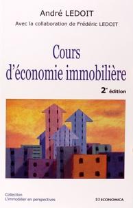 André Ledoit - Cours d'économie immobilière.