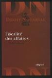 André Lefeuvre - Fiscalité des affaires.