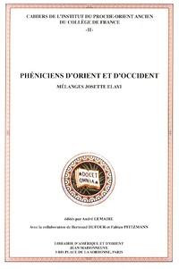 André Lemaire - Phéniciens d'Orient et d'Occident - Mélanges Josette Elayi.