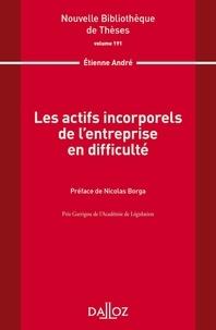 Les actifs incorporels de l'entreprise en difficulté -  André pdf epub