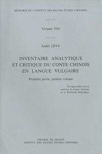 Inventaire analytique et critique du conte chinois en langue vulgaire - Première partie, premier volume.pdf