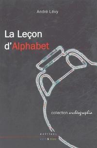 André Lévy - La Leçon d'Alphabet.