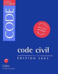 Corridashivernales.be Code civil. Edition 2003 Image