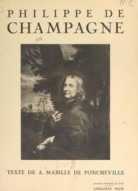 André Mabille de Poncheville et  Collectif - Philippe de Champagne.