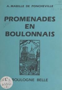 André Mabille de Poncheville et Henri Gros - Promenade en Boulonnais - Boulogne belle.