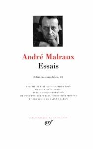 André Malraux et Jean-Yves Tadié - Essais - Oeuvres complètes (volume 6).