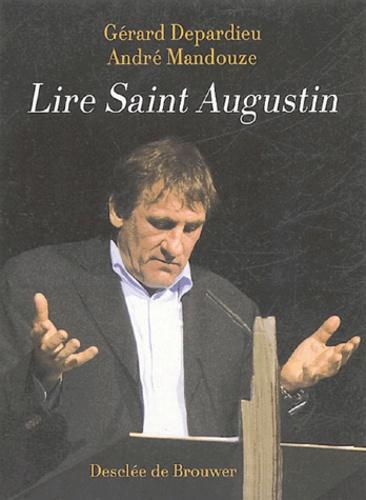 André Mandouze et Gérard Depardieu - Lire Saint Augustin.