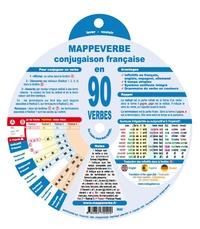 André Marie Baverel - Conjugaison française en 90 verbes.