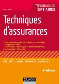 André Martin - Techniques d'assurances - 4e éd..