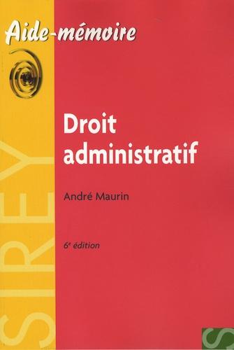 Droit administratif 6e édition