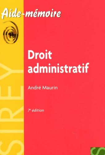 Droit administratif 7e édition