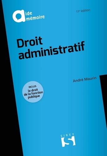 Droit administratif 11e édition
