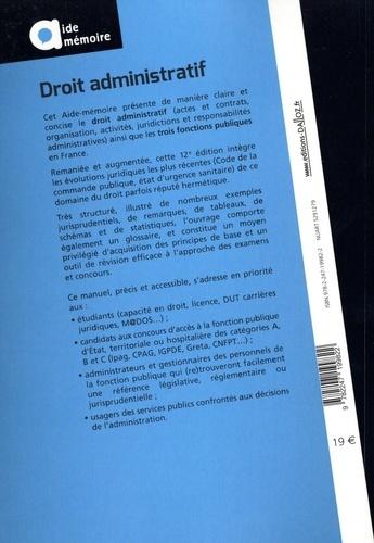 Droit administratif  Edition 2020