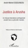 André-Michel Essoungou - Justice à Arusha.