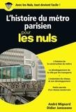 André Mignard et Didier Janssoone - POCHE NULS  : Le métro pour les Nuls poche.