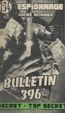André Monnier - Bulletin 396.