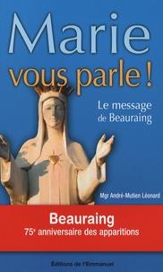 Marie vous parle! - Le message de Beauraing.pdf