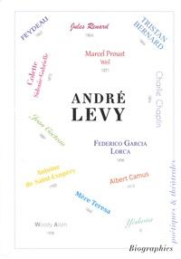 André Naftali Lévy - Biographies poétiques & théâtrales - Tome 2.