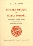 André Neher et Renée Neher - Histoire biblique du peuple d'Israël.