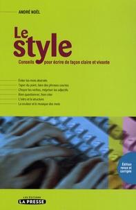Le style - Conseils pour écrire de façon claire et vivante.pdf