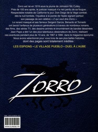 Zorro Tome 2 Les espions