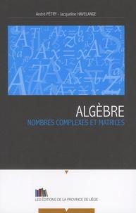 Corridashivernales.be Algèbre - Nombres complexes et matrices Image