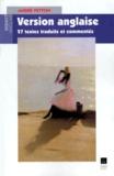 André Petton - Version anglaise - 27 textes traduits et commentés.
