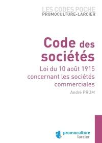 André Prüm - Code des sociétés.