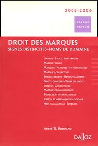 André-R Bertrand - Droit des marques - Signes distinctifs, Noms de domaine.