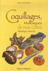 André Rozen et Sophie Rozen - Coquillages, Mollusques de nos côtes Atlantique, Manche.