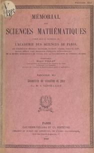 André Sainte-Laguë et  Académie des sciences de Paris - Géométrie de situation et jeux.