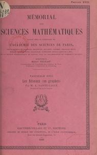 André Sainte-Laguë et  Académie des sciences de Paris - Les réseaux (ou graphes).