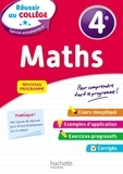 André Sarnette et Josyane Curel - Maths 4e.