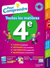André Sarnette et Pierre Curel - Toutes les matières 4e.
