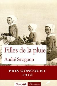 André Savignon - Filles de la pluie.