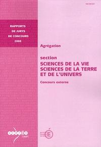 Corridashivernales.be Agrégation section Sciences de la Vie, Sciences de la Terre et de l'Univers - Concours externe Image