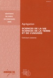 André Schaaf - Sciences de la vie, sciences de la terre et de l'univers - Agrégation, concours externe.