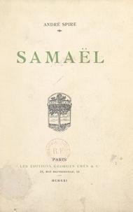 André Spire - Samaël.
