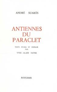 André Suarès - Antiennes du paraclet.