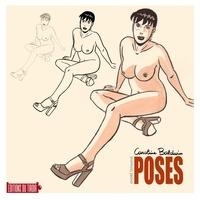 André Taymans - Poses - Artbook de dessins de Caroline Baldwin.