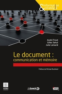 Cjtaboo.be Le document : communication et mémoire Image