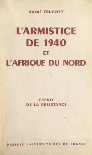 L'armistice de 1940 et l'Afrique du Nord