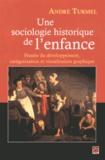 André Turmel - Une sociologie historique de l'enfance - Pensée du développement, catégorisation et visualisation graphique.