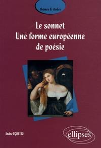 André Ughetto - Le sonnet - Une forme européenne de poésie.