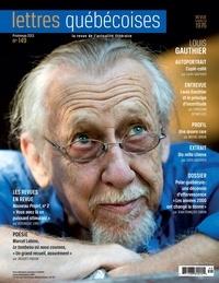 André Vanasse et Louis Gauthier - Lettres québécoises. No. 149, Printemps 2013.
