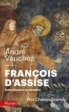 André Vauchez - Francois d'Assise - Entre histoire et mémoire.