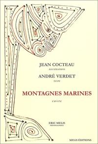 André Verdet et Jean Cocteau - Montagnes marines.