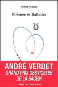 André Verdet - Poèmes et ballades.