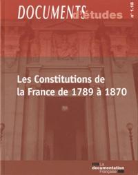 Les Constitutions de la France de 1789 à 1870.pdf